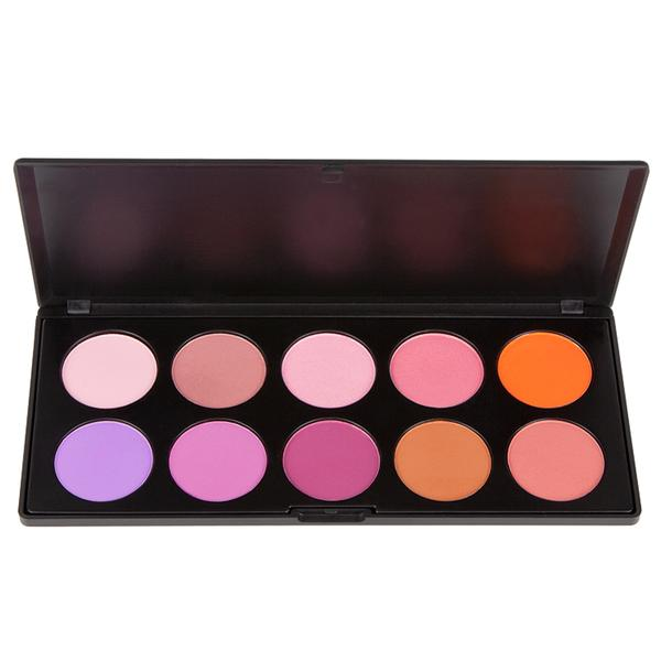 PL-018 - BLUSH TOO PALETTE COM 10 BLUSH | COASTAL SCENTS