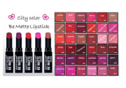 BE MATTE LIPSTICK | CITY COLOR