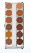 Kryolan | Dermacolor Camouflage Creme Palette 12 Cores