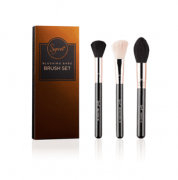 BLUSHING BABE BRUSH SET | KIT COM 3 PINCÉIS - SIGMA BEAUTY