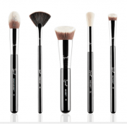 BAKING & STROBING BRUSH SET | KIT COM 5 PINCÉIS - SIGMA BEAUTY