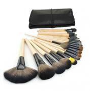 Make Up Brush Set com 24 Pincéis Profissional