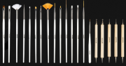 NewFace Brushes | Kit Nail 20 Brushes