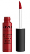 SOFT MATTE CREAM - AMSTERDAM  PURE RED | NYX