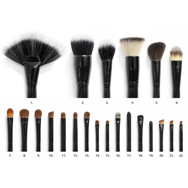 BR-SET-011- 22 PIECE BRUSH SET | COASTAL SCENTS