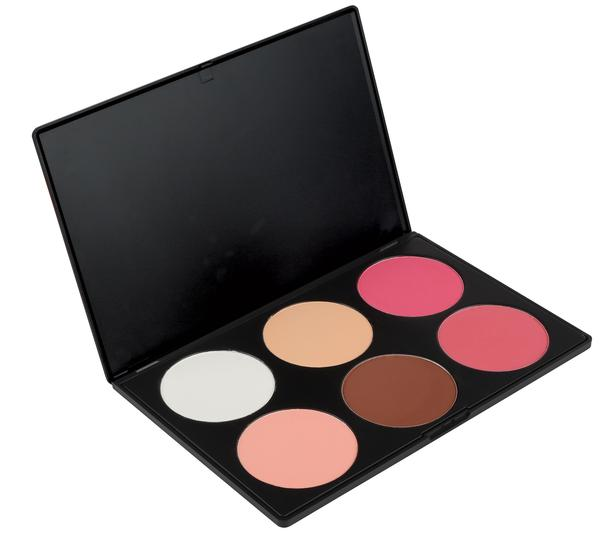 6 CONTOUR BLUSH PALETTE | COASTAL SCENTS