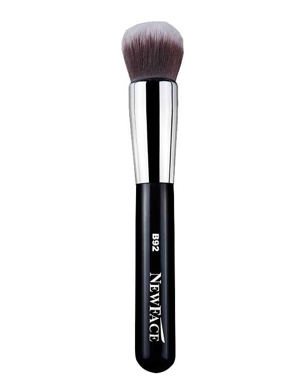 NewFace Brushes ® | B92- Round Kabuki Brush