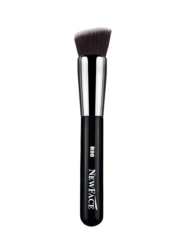NewFace Brushes ® | B98- Flat Angled Kabuki Brush