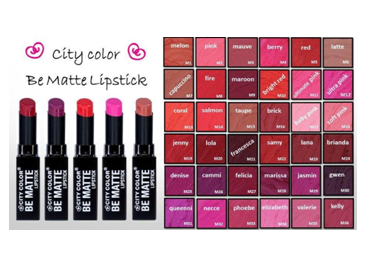 City Color | Lipstick Be Matte