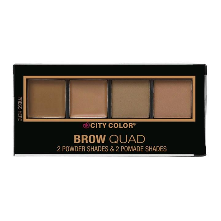 City Color | Brow Quad