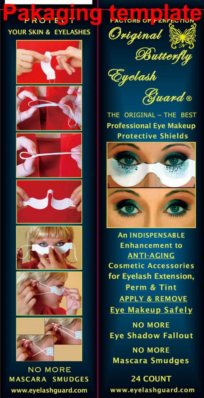 Butterfly Eyelash Guard  -  Caixa com 24 Unudades