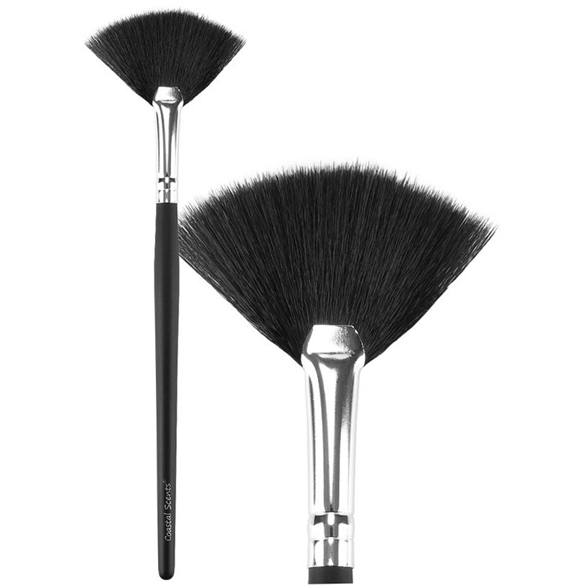 S39 - Classic Small Fan Brush Synthetic | Coastal Scents