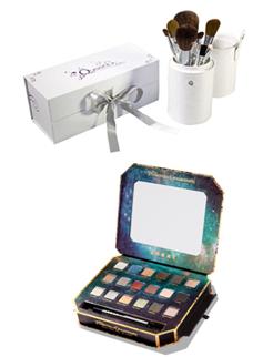 Combo Palette Lorac + kit de pincel