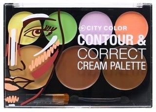 City Color | Contour & Correct Cream Palette