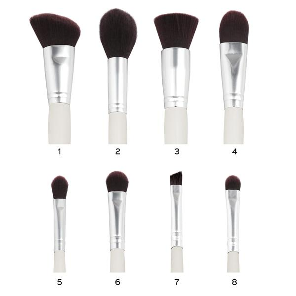 CREME DE LA CLEME  BRUSH SET COM 8 PINCÉIS | COASTAL SCENTS