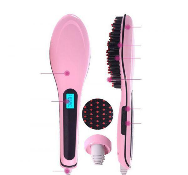 Escova Alisadora Elétrica LCD | Magic Hair
