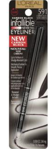 L'OREAL| INFALLIBLE 16H RETRACTABLE EYELINER