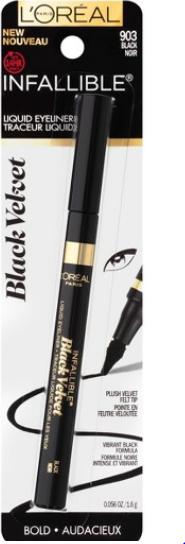 L'oreal | Eyesliner Infallible Black Valvet  # 903