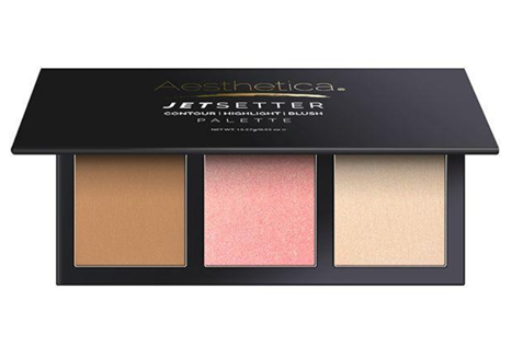 Jetsetter contour and Blush | Aesthetica