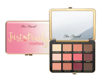 Too Faced | Just Peachy Mattes
