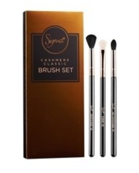 Cashmere Classic Brush Set |  KIT COM 3 PINCÉIS - Sigma Beauty