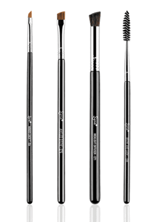 BROW GOALS BRUSH SET | KIT COM 4 PINCÉIS - SIGMA BEAUTY