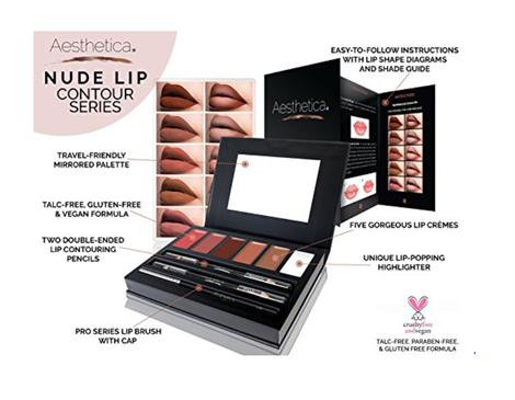 Aesthetica | Nude Lip Contour Palette