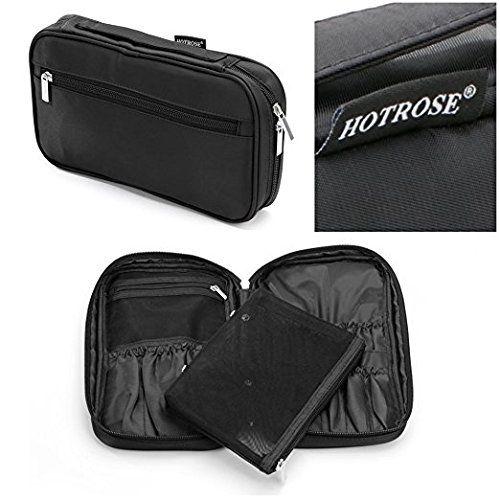 Hotrose | Multi Funcional para Maquiagens e Pinceis com Zipper