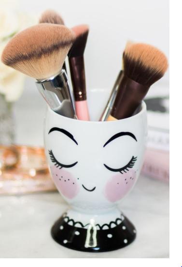 Ceramic Cup Pencil Holder Trinket Dish, Girl - Threshold