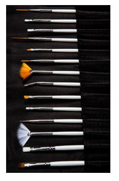 NewFace Brushes ® | Kit Nail 20 Brushes