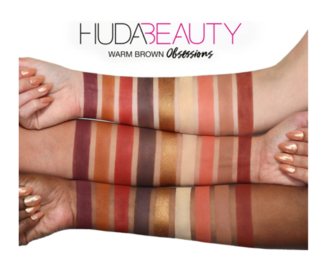 Huda Beauty | Obsessions Warm Brown Eyeshadow Palette