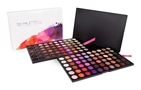FIVE PALETTE COM 120 SOMBRAS | COASTAL SCENTS