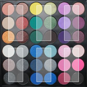 Coastal Scents | PL-025 Smoke Shadow Palette