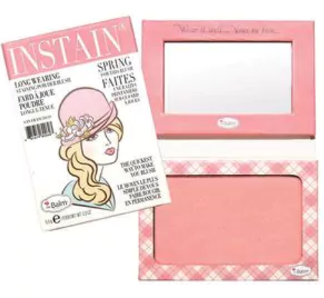 The Balm  Powder Blush / Argyle Pental Pink