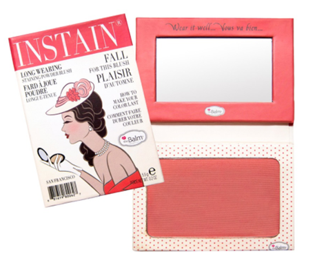 Powder Blush / Swiss dot Peach | The Balm