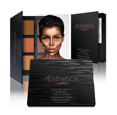 Aesthetica | Pressd Powder Contour Kit / Tan to Dark