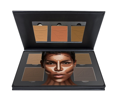 POWDER CONTOUR KIT - TAN TO DARK | AESTHETICA