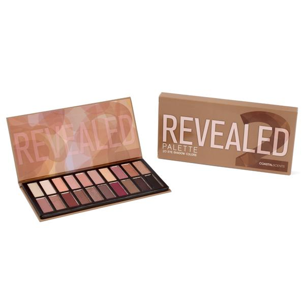 REVEALED 2 EYESHADOW PALETTE COM 20 SOMBRAS | COASTAL SCENTS