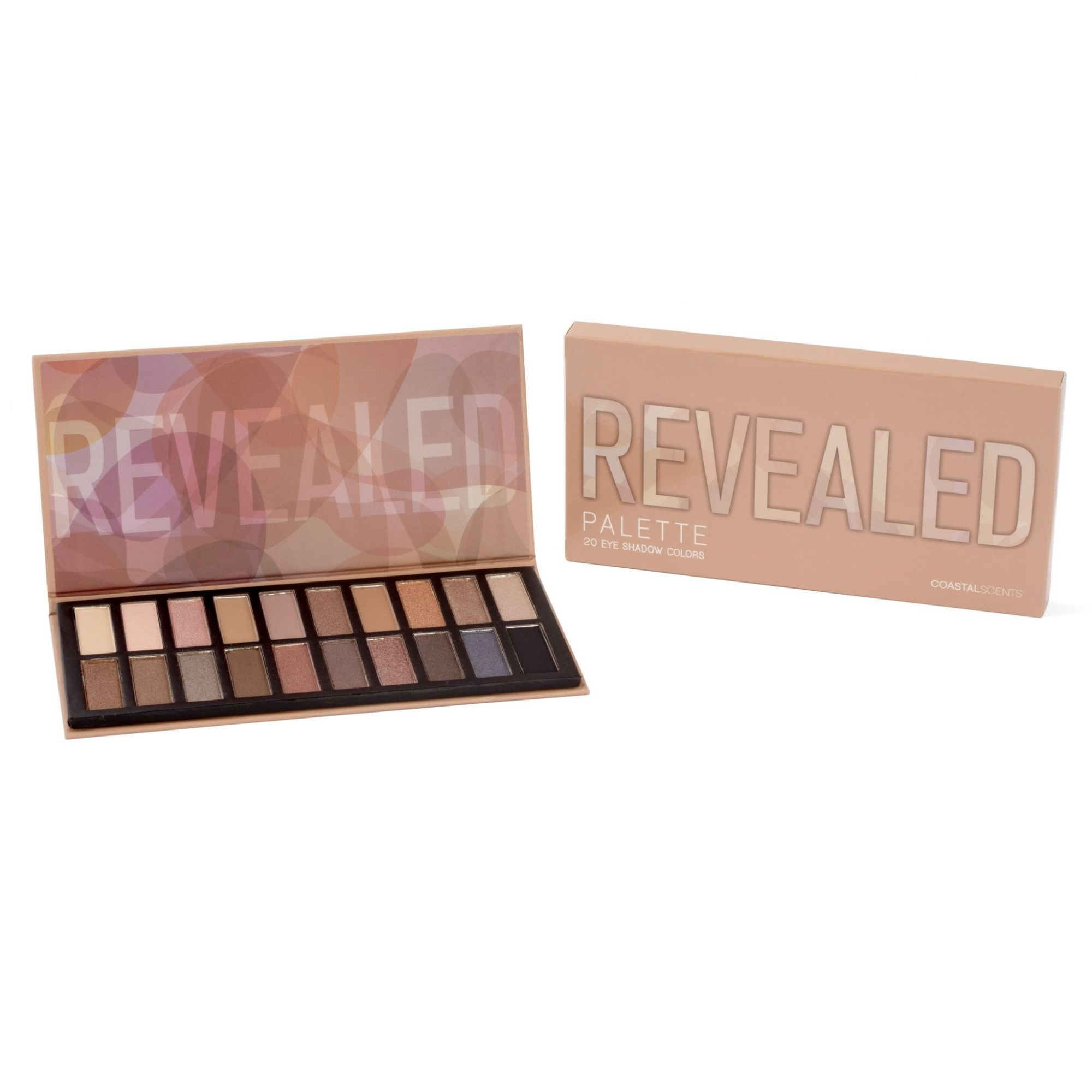 REVEALED EYESHADOW PALETTE COM 20 SOMBRAS | COASTAL SCENTS