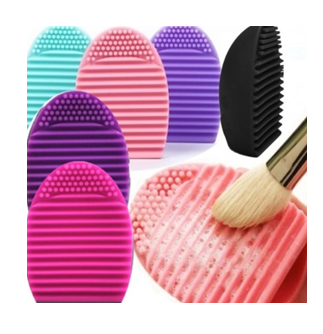 Silicone Cosmetic Make-up Brush Cleaning Tool
