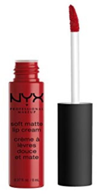 Lip Soft Matte Cream / Cor: Amtsterdam Pure Red  | Nyx