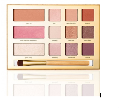 Swamp Queen Eye & Cheek Palette With Brush | Tarte