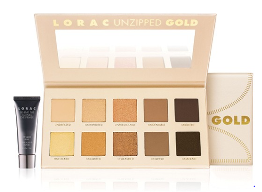 Lorac | Unzipped Gold Eye Shadow Palette