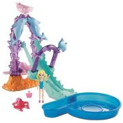POLLY POCKET ESCORREGADOR DE GOLFINHO FNH13