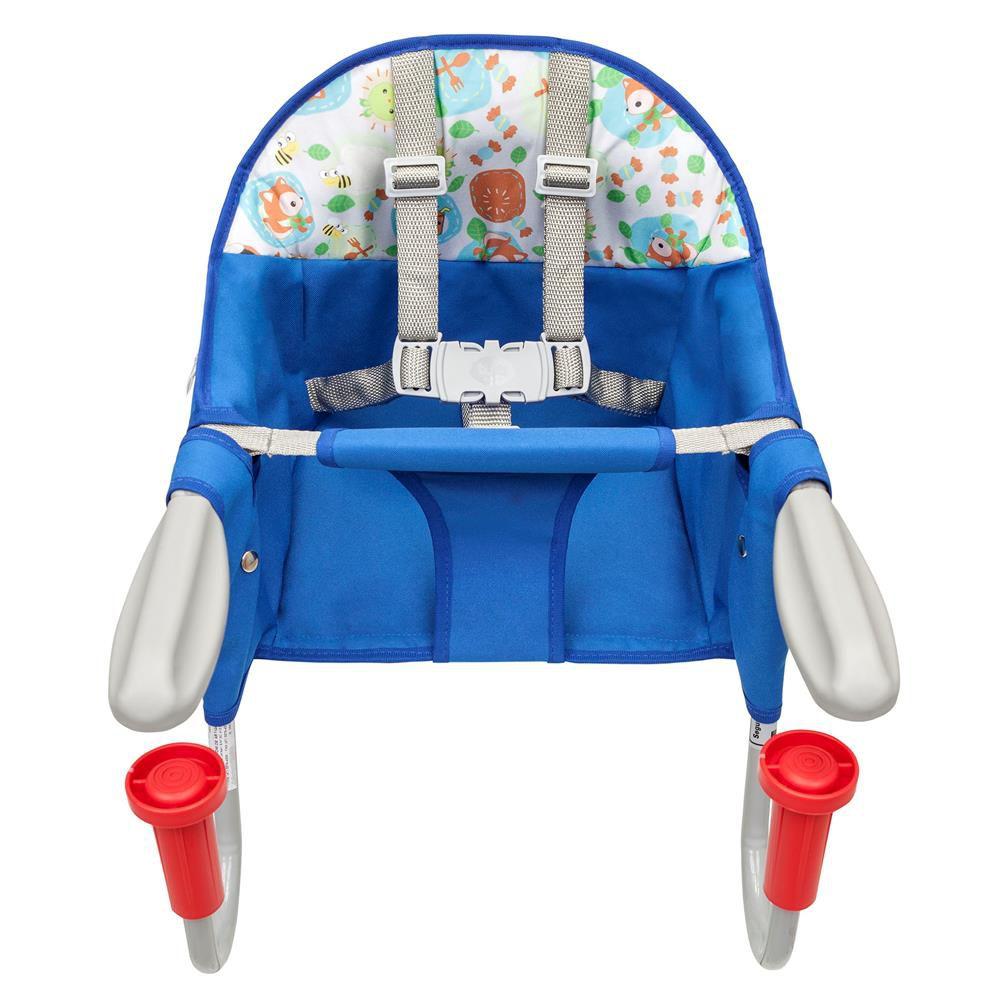CADEIRA DE ENCAIXE EM MESA FIT AZUL 0100510004 TUTTI BABY