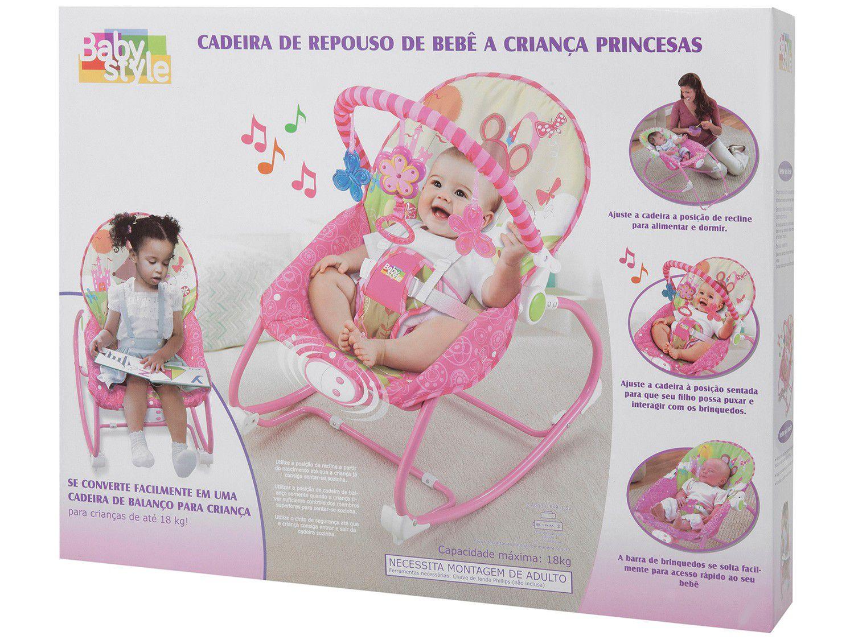 CADEIRA VIBRATORIA PRINCESAS 68101