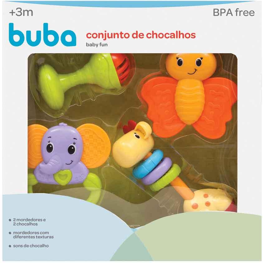 CONJUNTO DE CHOCALHOS BABY FUN 10650