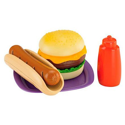 FISHER-PRICE KIT HAMBURGUER E HOT DOG BMG47