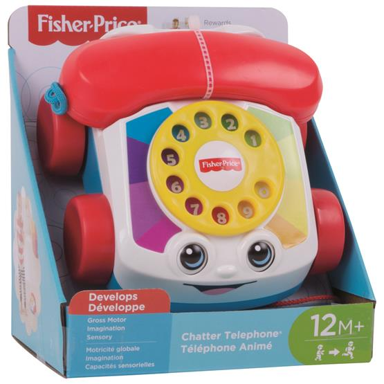 FISHER-PRICE TELEFONE FELIZ DPN22