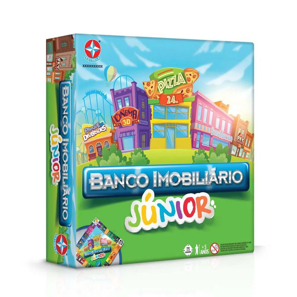 JOGO BANCO IMOBILIARIO JUNIOR